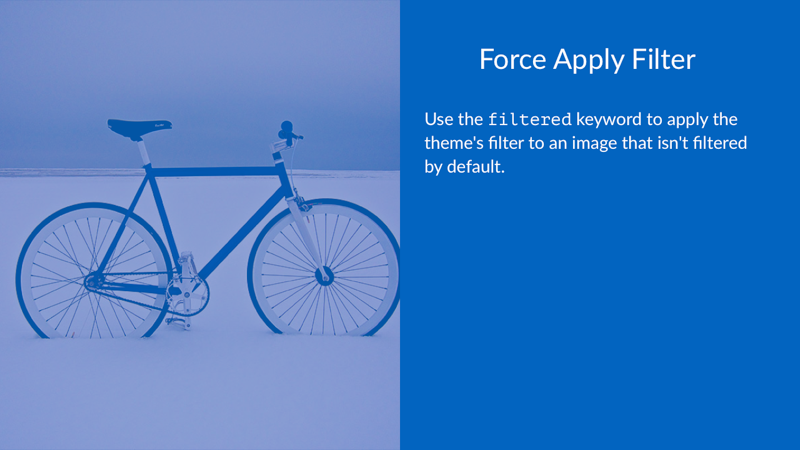 Force Apply Filter